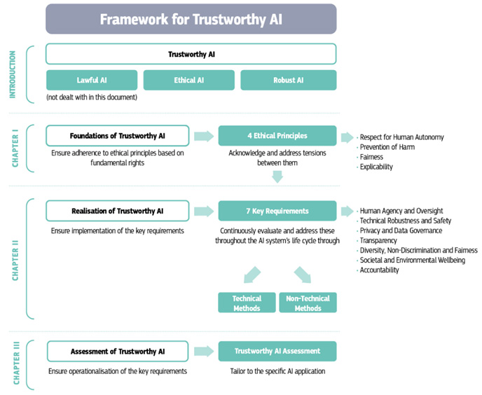The Guidelines as a framework for Trustworthy AI